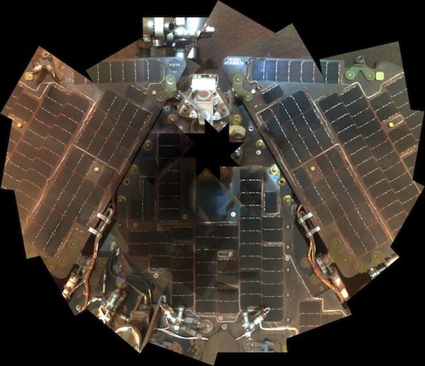 Autoportrét rovera Opportunity na Marse