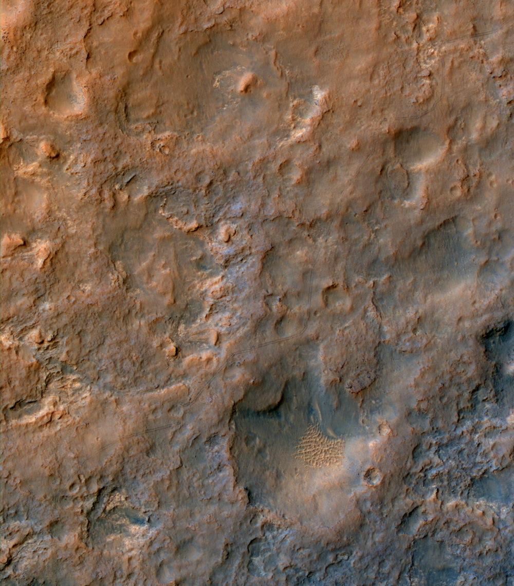 Curiosity z obežnej dráhy